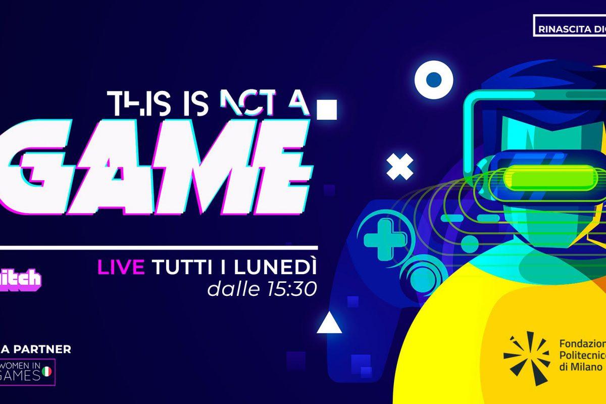 Women in Games Italia partner di This is not a Game e Rinascita Digitale