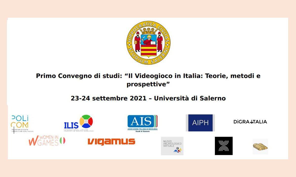 """Women in Games Italia partner del Primo Convegno di studi: """"Il Videogioco in Italia: Teorie, metodi e prospettive"""""""